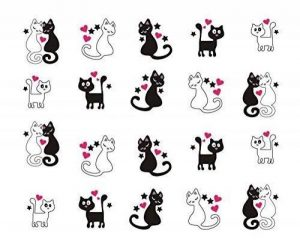 stickers ongles chat TOP 3 image 0 produit
