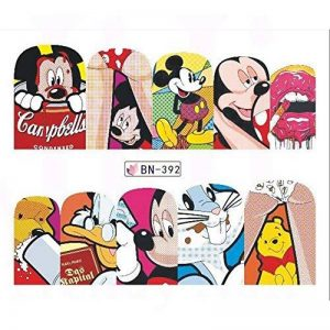 stickers ongles mickey TOP 1 image 0 produit