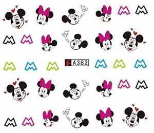 stickers ongles mickey TOP 4 image 0 produit