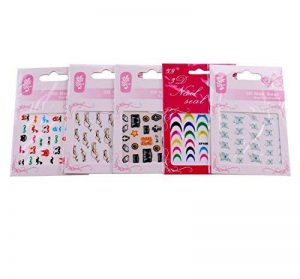 stickers ongles papillons TOP 3 image 0 produit