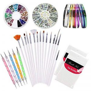 stickers ongles strass TOP 1 image 0 produit